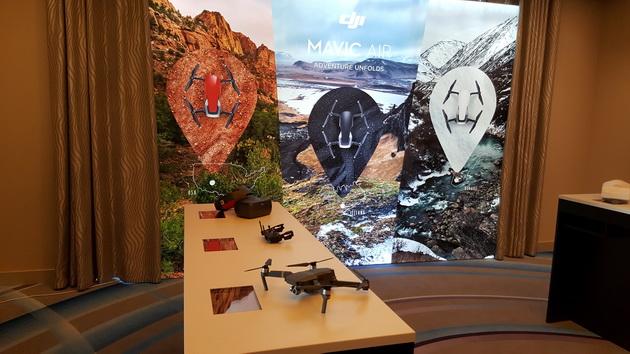 DJI Mavic Air - pokaz w Monako