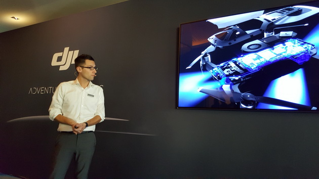 DJI Mavic Air - prezentacja w Monako Bay Hotel