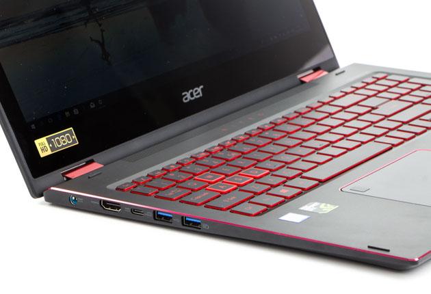Acer Nitro 5 Spin lewy bok