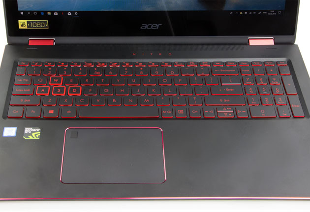 Acer Nitro 5 Spin klawiatura