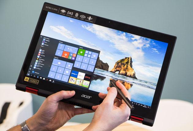 Acer Nitro 5 Spin tablet