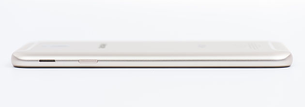 Galaxy J7 2017 - głośnik na prawym boku obudowy