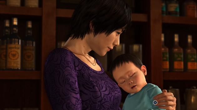 Yakuza 6: The Song of Life - matka z dzieckiem