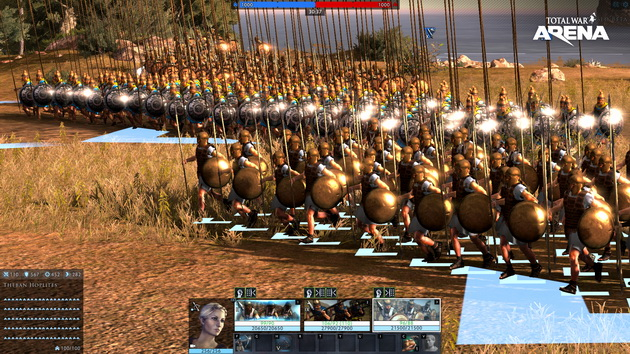Total War: Arena - włócznicy