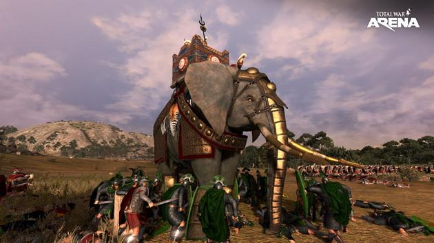 Total War: Arena - słoń bojowy