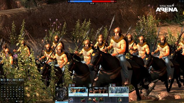 Total War: Arena - konnica barbarzyńców