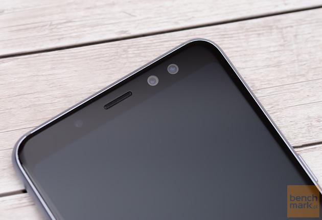 Samsung Galaxy A8 (2018) przednie aparaty