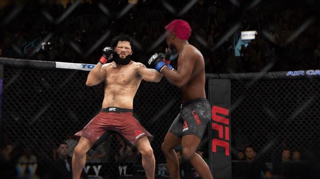 EA Sports UFC 3 - wymiana ciosów