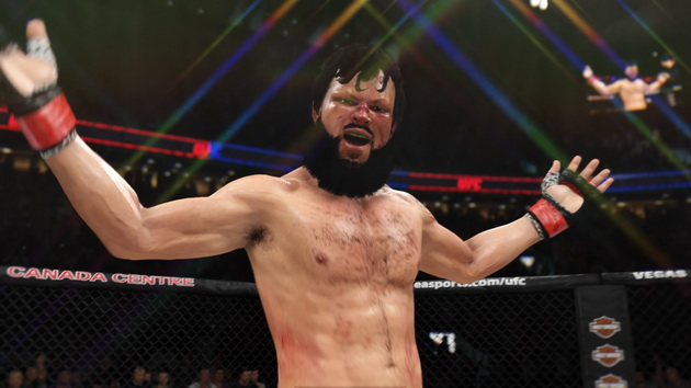 EA Sports UFC 3 - gest zwycięzcy