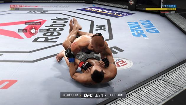 EA Sports UFC 3 - walka w parterze