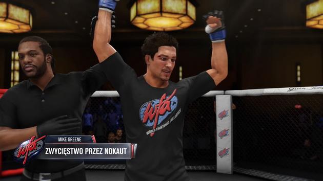 EA Sports UFC 3 - zwycięstwo prze nokaut