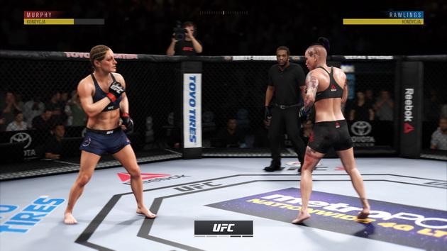 EA Sports UFC 3 - kobiety walczące w klatce