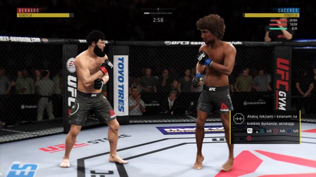 EA Sports UFC 3 - nauka ataków