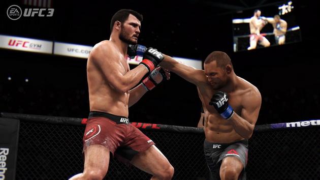 EA Sports UFC 3 - cios w głowę