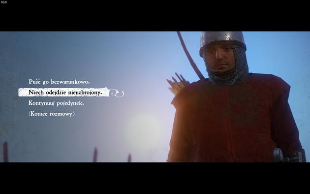 Kingdom Come: Deliverance - koniec pojedynku