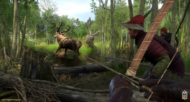 Kingdom Come: Deliverance - polowanie na jelenia