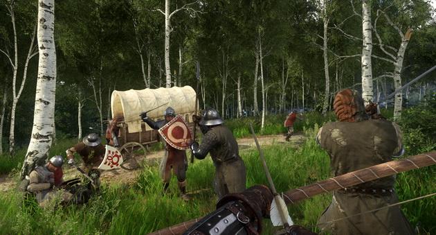 Kingdom Come: Deliverance - atak na wóz
