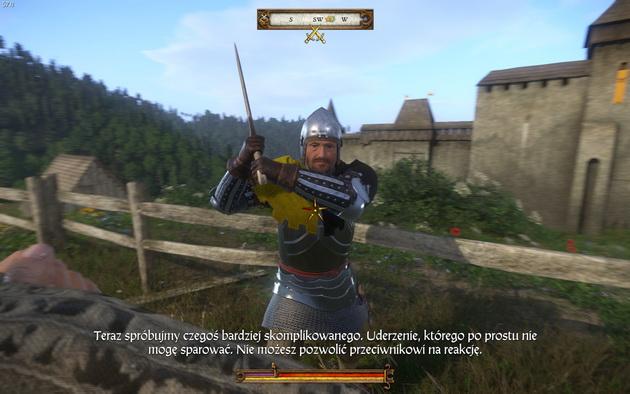 Kingdom Come: Deliverance - nauka walki na miecze