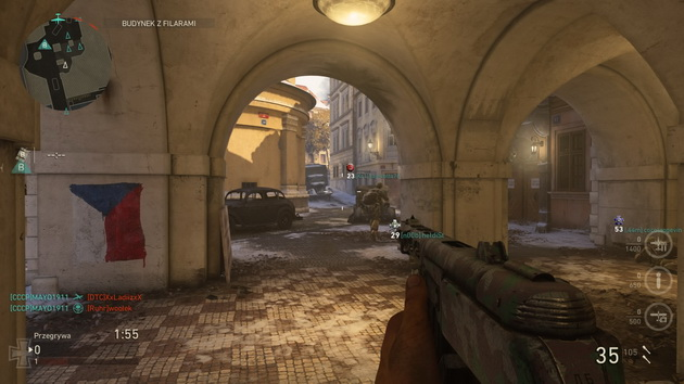 Call of Duty: WWII The Resistance DLC - mapa Anthropoid