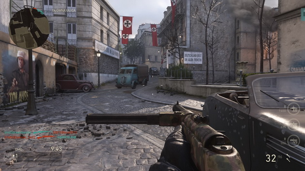Call of Duty: WWII The Resistance DLC - mapa Occupation