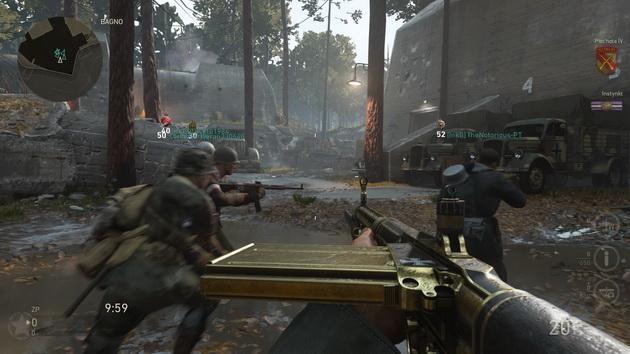 Call of Duty: WWII The Resistance DLC - mapa Valkyrie i Wilczy Szaniec