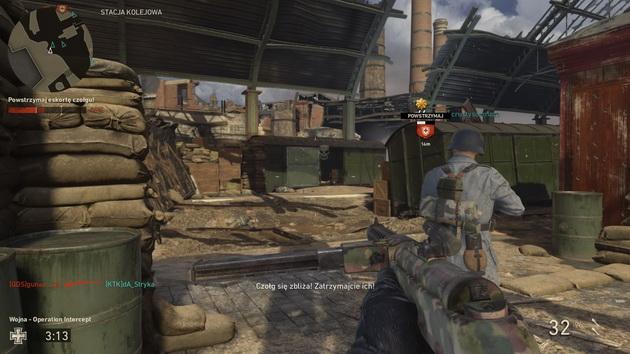 Call of Duty: WWII The Resistance DLC - operacja na dworcu kolejowym