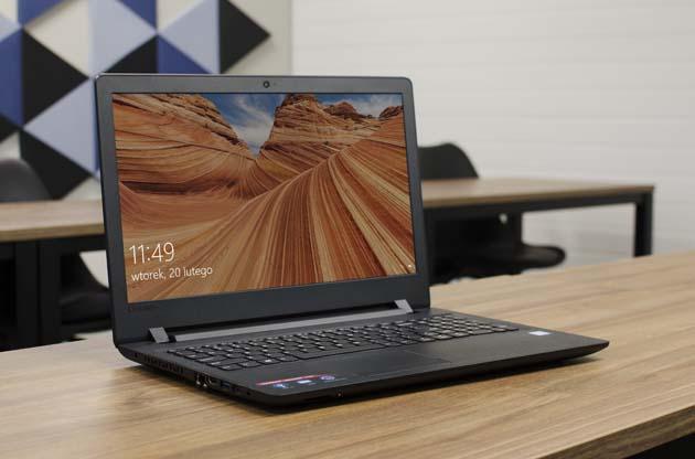 Lenovo Ideapad 110-15ISK (80UD01AWPB) przód laptopa