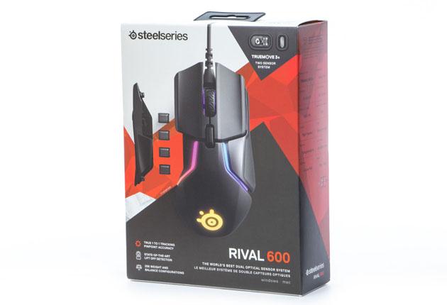 SteelSeries Rival 600 - pudełko