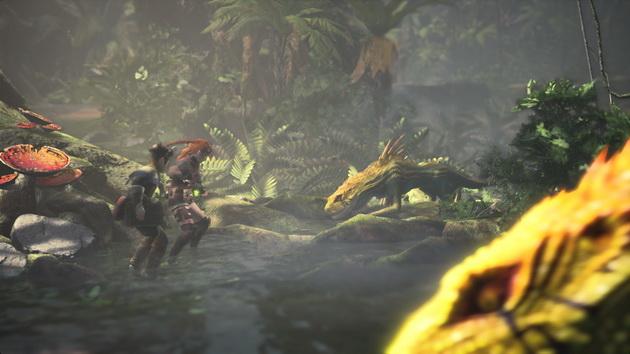 Monster Hunter: World - pierwsze spotkanie z małym drapieżnikiem