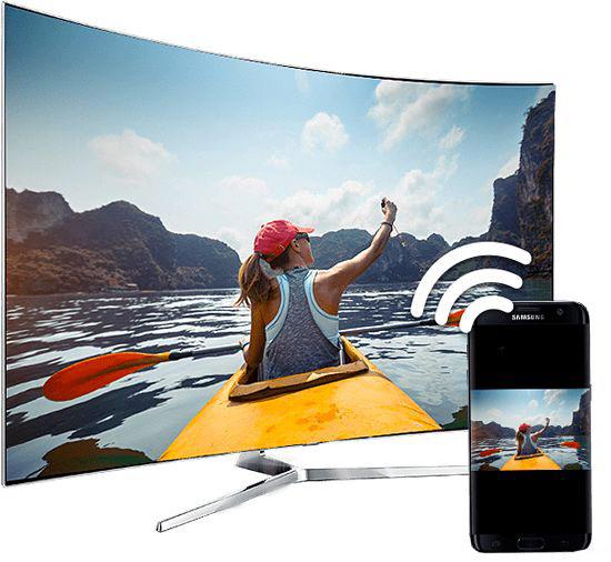 bezprzewodowe przesyłanie obrazu z telefonu na TV