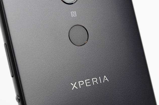 Sony Xperia XA2 Ultra - czytnik linii papilarnych