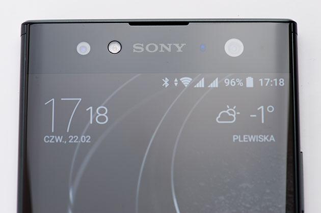 Sony Xperia XA2 Ultra - wyświetlacz i szkło Gorilla Glass 5 2.5D