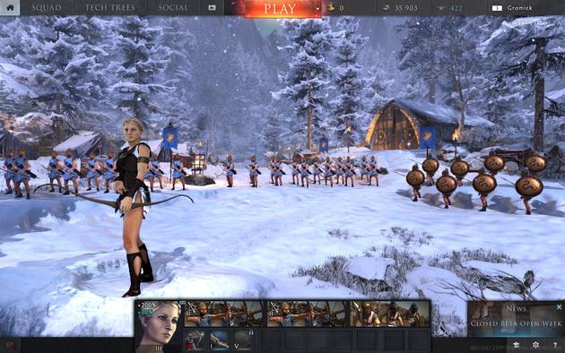 Total War: Arena - dowódzcy