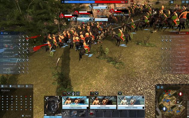 Total War: Arena - konnica