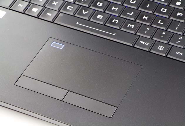Hyperbook GTR87 VR3 SLI touchpad