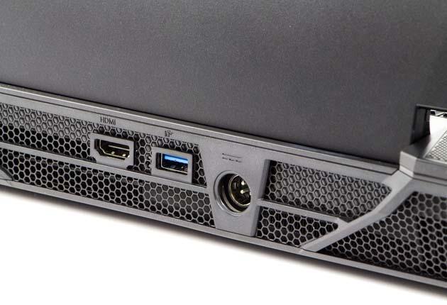 Hyperbook GTR87 VR3 SLI tył