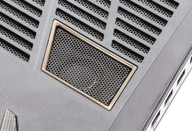 Hyperbook GTR87 VR3 SLI głośniki