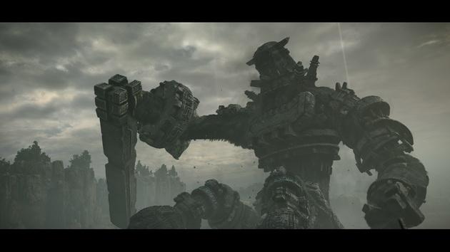 Shadow of the Colossus - kolos z kamiennym mieczem