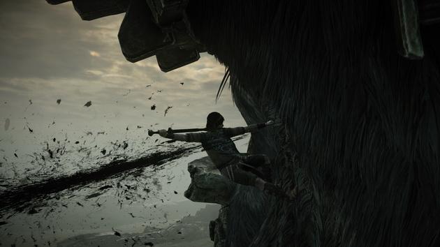 Shadow of the Colossus - zabijanie kolosa