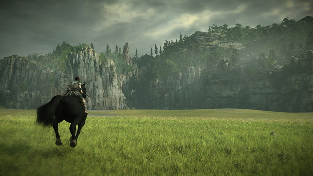 Shadow of the Colossus - jazda ku górom