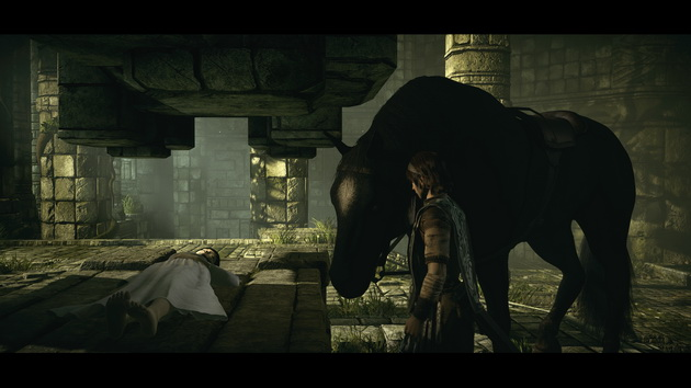 Shadow of the Colossus - z ukochaną Mono