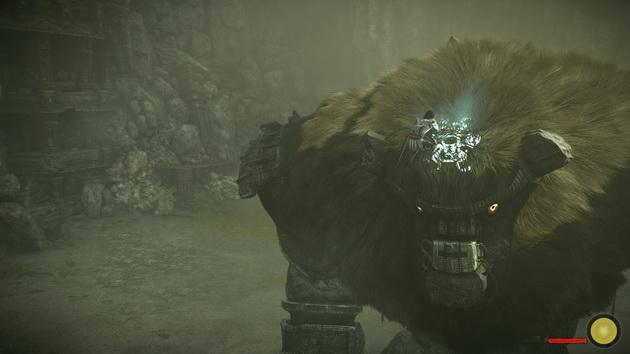 Shadow of the Colossus - na głowie kolosa