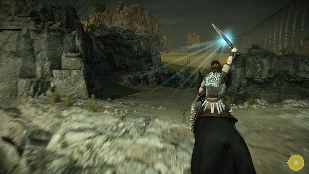 Shadow of the Colossus - namierzanie kolosów blaskiem miecza