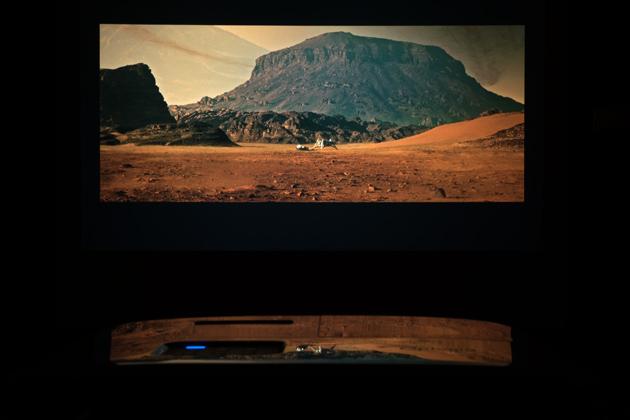 Optoma HD27e film Marsjanin