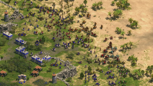 Age of Empires: Definitive Edition - bitwa pod miastem