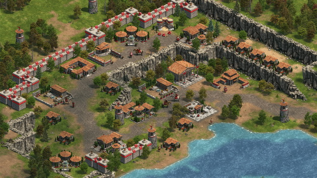 Age of Empires: Definitive Edition - rozbudowa miasta