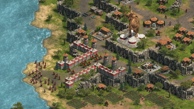 Age of Empires: Definitive Edition - wielki posąg