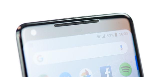 Google Pixel 2 XL - głośnik górny