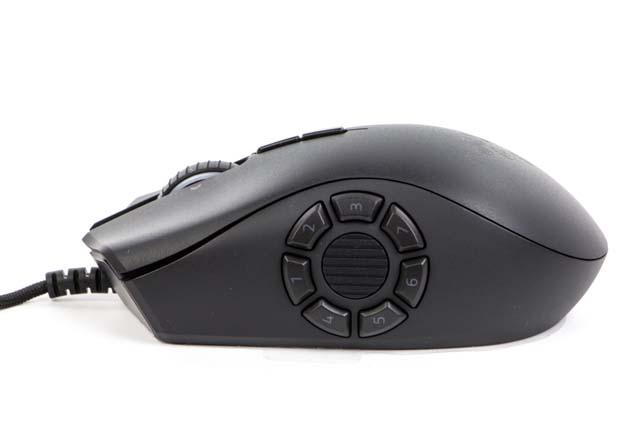 Razer Naga Trinity - panel 7 przyciskowy