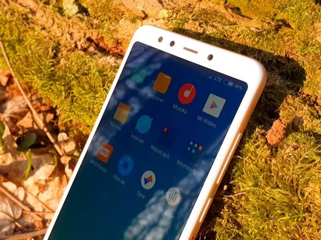 Xiaomi Redmi 5 wąskie ramki